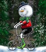 Cynthia Snyder - Snowman Ride