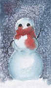 Snowman Print by Sean Seal