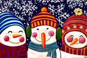 Cynthia Snyder - Snowman Trio