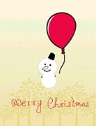 Shruti Shubham - Snowman with Baloon