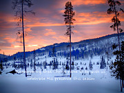 Rob Wilson - Snowshoe Sunset