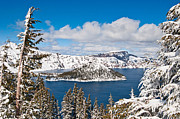 Jamie Pham - Snowy Crater - Crater Lake in Oregon