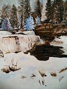 Arlen Avernian Thorensen - Snowy Falls