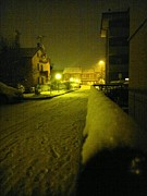 Giuseppe Epifani Metal Prints - Snowy night Metal Print by Giuseppe Epifani