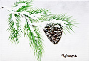 Snow Cone Originals - Snowy Pine by Judy M Watts- Rohanna