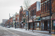Kari Yearous - Snowy Third Street...