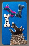 Dogs Jewelry - So Many Bones...So Little Time by Barbara Lager