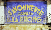 Vietnamese Framed Prints - Soap Factory Sign Framed Print by Rick Piper Photography
