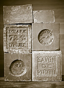 Antiques Metal Prints - Soaps Metal Print by Frank Tschakert