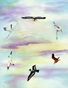 Abbot Paintings - Soaring by L T Sparrow
