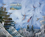 September 11 Originals - Soaring Spirits at Ground Zero by June Long-Schuman