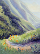 Wildflower Originals - Soberanes Canyon I by Karin  Leonard