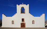 Historical Buildings Posters - Socorro Mission La Purisima Texas Poster by Bob Christopher