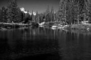 Yosemite National Park Digital Art - Soda Springs by Amanda Kiplinger