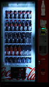 Coke Bottle Prints - Soda Vending Machine - 5D20672 Print by Wingsdomain Art and Photography