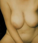 Voluptuous Digital Art Posters - Soft Bawdy Poster by James Barnes