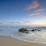 La Jolla Prints - Soft Blue Skies Print by Peter Tellone