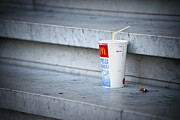 Mcdonalds Prints - Soft Drink Container Print by Chevy Fleet