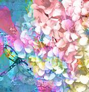 Claire Bull - Soft Hydrangea and...