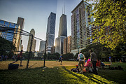 Softball Photos - Softball by Skyscrapers by Sven Brogren