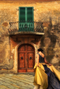 Fantasy Photos - Sogni di una Ragazza Toscana by Jeffrey Campbell