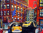 Culture Paintings - SoHo by Laura Barbosa