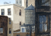 Greenwich Village Paintings - Soho NYC by Steve Dininno