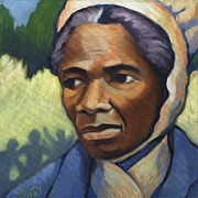 Slavery Painting Prints - Sojourner Truth Print by Linda Ruiz-Lozito