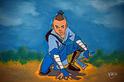 Avatar Paintings - Sokka - Warrior by Apoorv Jain