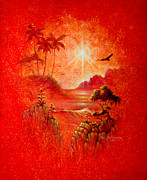 Tropical Paintings - Solar Flair by Keith Stillwagon