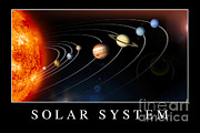 Poster From Digital Art Posters - Solar System Poster Poster by Stocktrek Images