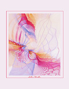 Abstract Digital Pastels Prints - Solar Winds Print by Gayle Odsather