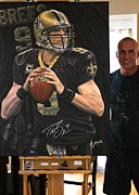 Www.sportsartworldwide.com  Paintings - SOLD Autographed ORIGINAL BUT HAVE unsigned  9 limited edition prints  by Sports Art World Wide John Prince