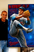 Sports Art World Wide John Prince - Sold Sandy Koufax...