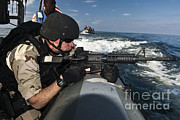 Featured Art - Soldier Assumes A Ready-to-fire by Stocktrek Images