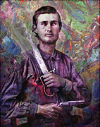 Soldier Fellow 1 Print by James W Johnson