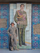 Baghdad Prints - Soldier to Sedam Print by Sharla Fossen