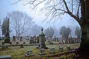 Grave Photo Originals - Solemn Space by Joe Geraci