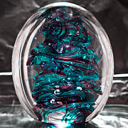 Solid Glass Sculpture Rb3 Print by David Patterson