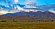 Prairie Photography Posters - Solider Mountain Range Poster by Robert Bales
