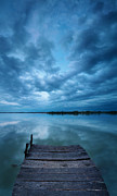 Dark Sky Photos - Solitary pier by Davorin Mance