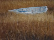 Cape Cod Pastels Prints - Solitude Print by Harvey Rogosin