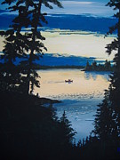 Camper Paintings - Solitude by Norm Starks