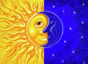 Pagan Prints - Solstice Greeting Print by David Kyte
