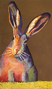 Easter Pastels - Some Bunnie on Grass by Holly Wright