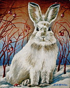Linda Simon Framed Prints - Some Bunny is Charming Framed Print by Linda Simon