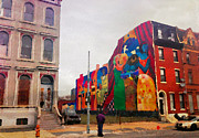 Alicegipsonphotographs Art - Some Color In Philly by Alice Gipson