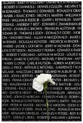 Vietnam Veterans Memorial Photos - Some Gave All - Vietnam Veterans Memorial by Edward Fielding
