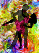 Dance Mixed Media - Some Like It Hot 1 Part 2 by Angelina Vick