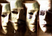 Masks Digital Art - Some of us wear them by Gun Legler